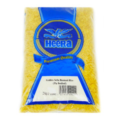 Heera Golden Sella Basmati Rice Parboiled 2kg