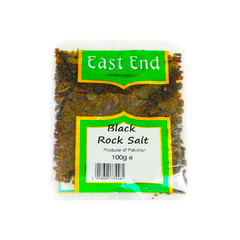 East End Black Rock Salt Powder 100g