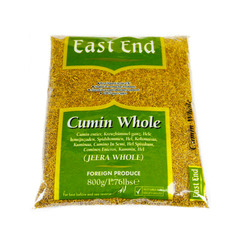 East End Cumin Whole (Jeera) 800g