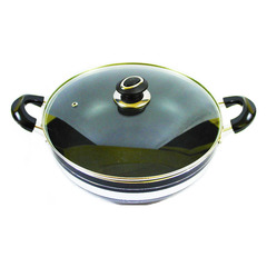 Non Stick Die Cast Casserole Large Base 2.3kg