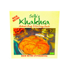 Seth's Khakhra (roasted) Rich Methi 200g