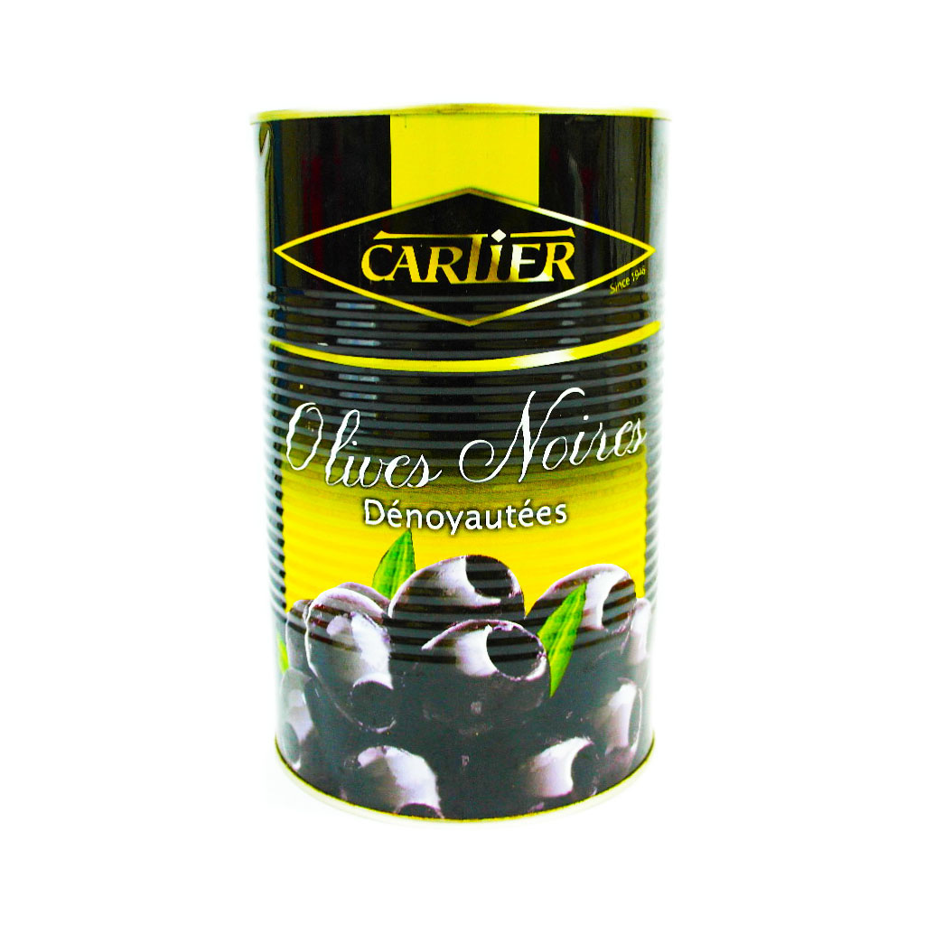 Cartier Pitted Black Olives 4.3kg