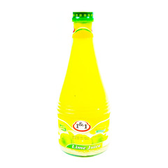 1&1 Pasteurized Lime Juice 625g
