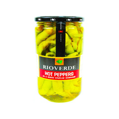 Rioverde Hot Peppers 640g