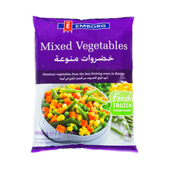 Emborg Mixed Vegetables, 900g