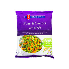 Emborg Peas and Carrots 450g