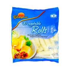 Shazans 20 Vegetables Rolls 650g