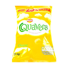 Walkers Quavers Cheese Flavour 25.6g