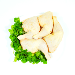 Halal Chicken Leg with skin 600g