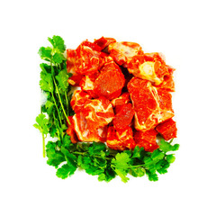 Halal Mixed Lamb 600g