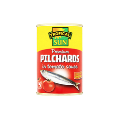 Tropical Sun Pilchards In Tomato Sauce 400g