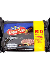 McVitie's Digestive Dark Chocolate (Twin Pack 2x316g)