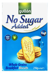 Gullon Wholegrain Breakfast Biscuits (Sugar Free) 216g