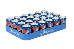 Pepsi Cans Case 24x330ml