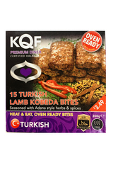 KQF 15 Turkish Lamb Kobeda Bites 350g