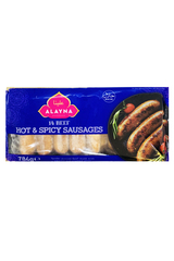 Alayna 14 Beef Hot & Spicy Sausages 784g