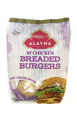 Alayna 10 Chicken Breaded Burgers 700g