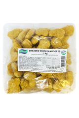 Riverside Breaded Chicken Nuggets 1kg