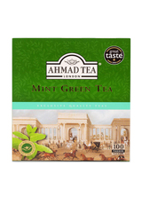 Ahmad Mint Green Tea 100 Tea Bags 200g