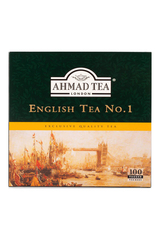 Ahmad Tea English Tea No.1 100 Tea Bags 200g