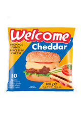 Welcome Cheddar 10 Slices 200g