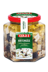 Gazi Salad Cheese In Oil With Olives & Herbs 375g