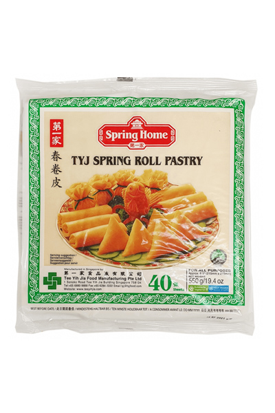 spring home tyj spring roll pastry 40 sheets 550g  desime