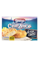 Young's Chip Shop 6 Fish Cake 300g
