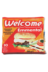 Welcome Emmental Cheese Slices 200g