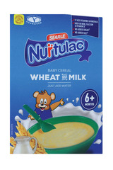 Nurtulac Baby Cereal Wheat with Milk 350g