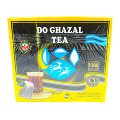 Do Ghazal Super Ceylon Earl Grey Tea 100 tea bags 200g