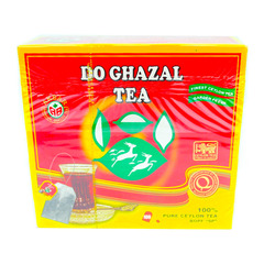 Do Ghazal 100% Pure Ceylon 100 Tea Bags 200g