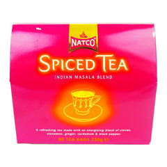Natco Spiced Tea 80 Tea Bags 250g