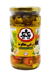 1&1 Mixed Pickled Vegetable 640g