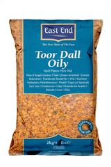 East End Toor Dall Oily 2kg