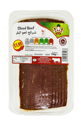 Zaad Sliced Beef 100g