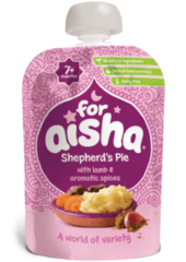 For Aisha Shepherd's Pie with Lamb & Aromatic Spices 7+ Months 130g