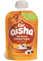 For Aisha Moroccan Chicken Tagine 7+ Months 130g