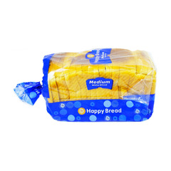 Happy Medium White Sliced Bread 700g