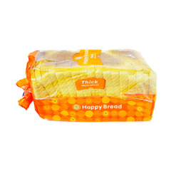 Happy Thick White Sliced Bread 700g