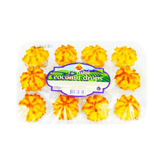Cake Zone 12 Mini Coconut Drops 200g
