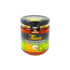 Alasia Pure Mexican Yucatan Tropical Forest Honey 340g