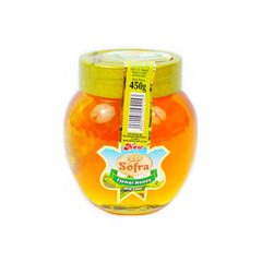 Sofra Flower Honey With Comb 450g