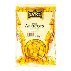 Natco Dried Apricots 1kg