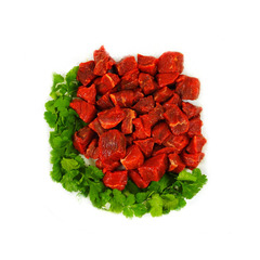 Halal Beef Boneless Small Pieces 1Kg