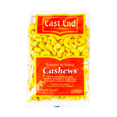 East End Roasted & Salted Cashews 250g